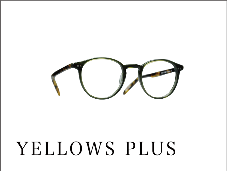 YELLOWS PLUS eyewear